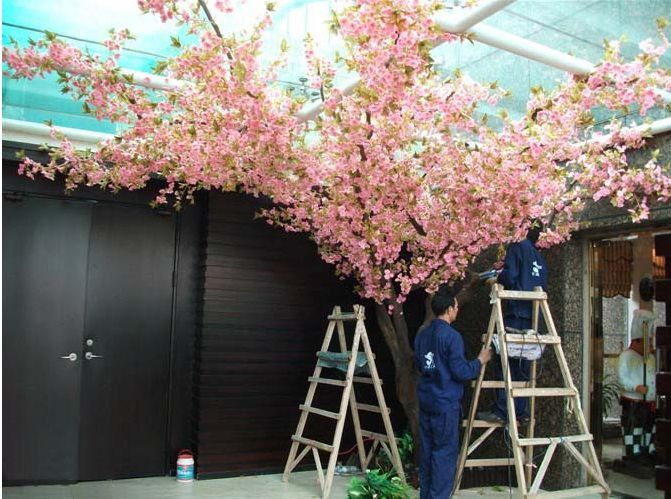 2014 hot sales high quality artificial cherry blossom trees fake cherry flower tree artificial cherry blossom for indoor outdoor $170~$1700