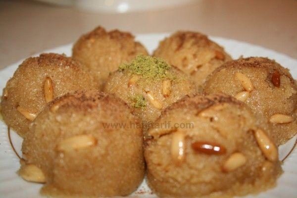 Irmik Helvasi | recipe is in Turkish but that's what google translate is for
