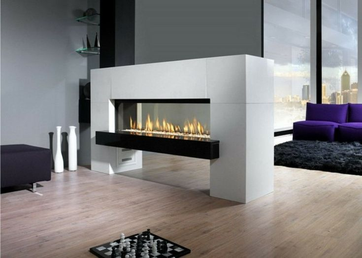 12 best Glass fireplace room divider images on Pinterest Modern
