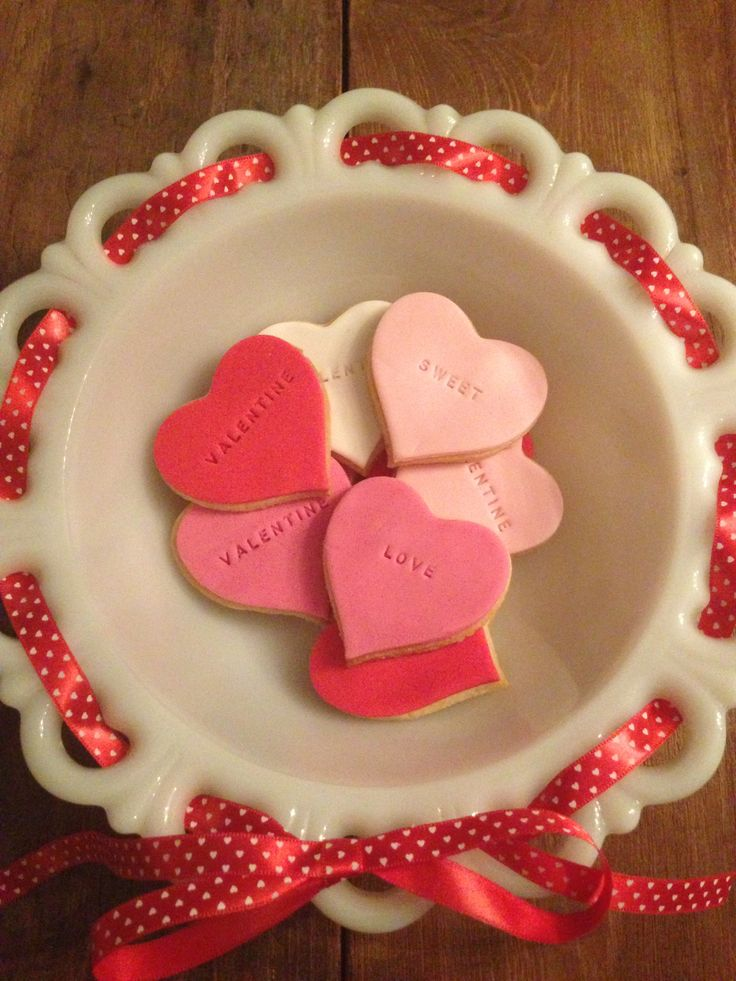 Valentine cookies by Cupcakes EnZo