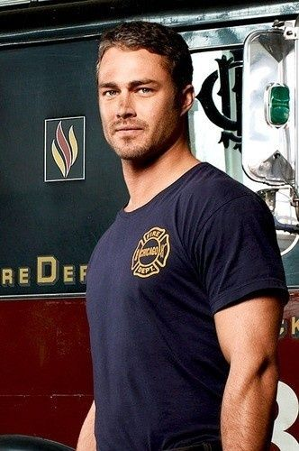 Taylor Kinney. Never seem Chicago Fire but I might start for this one..