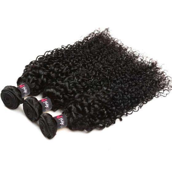 8A Brazilian Curly Human Hair Weave 3Pcs Kinky Culrs Virgin Human Hair Weave