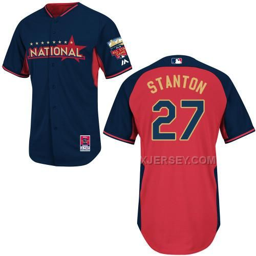 http://www.xjersey.com/national-league-marlins-27-stanton-blue-2014-all-star-jerseys.html Only$36.00 NATIONAL LEAGUE MARLINS 27 STANTON BLUE 2014 ALL STAR JERSEYS #Free #Shipping!