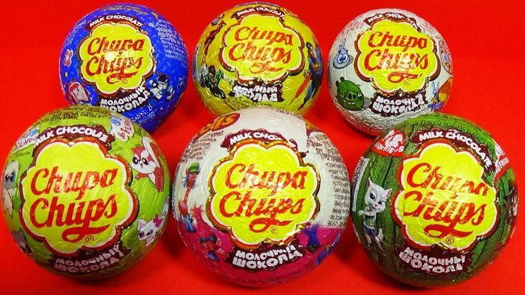 Chupa Chups surprise eggs!