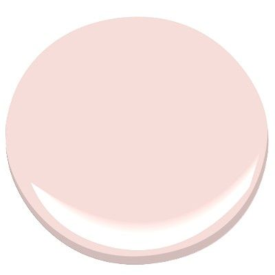 yours truly - Benjamin Moore paint. I don't like pink, but this shade is precious!