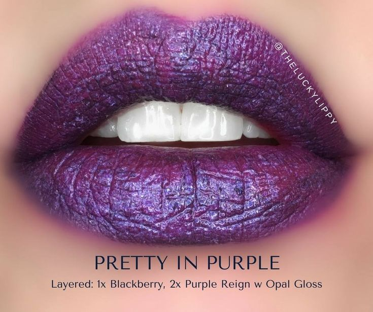 Blackberry & Purple Reign Lipsense Combo