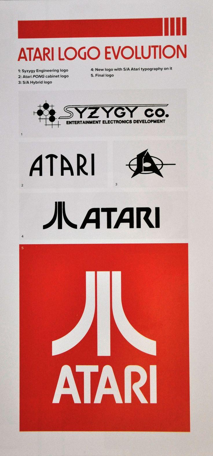 """The Atari logo: behind """"the Fuji"""""""