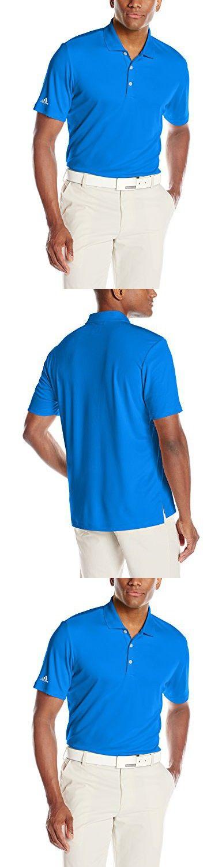Adidas Golf Men's Performance Polo Shirt, Bright Royal, Medium