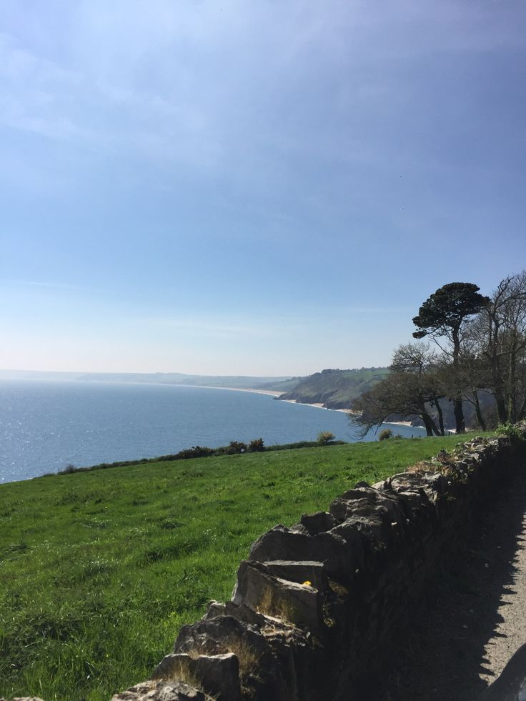 Coastline on route to Slapton sands , Devon