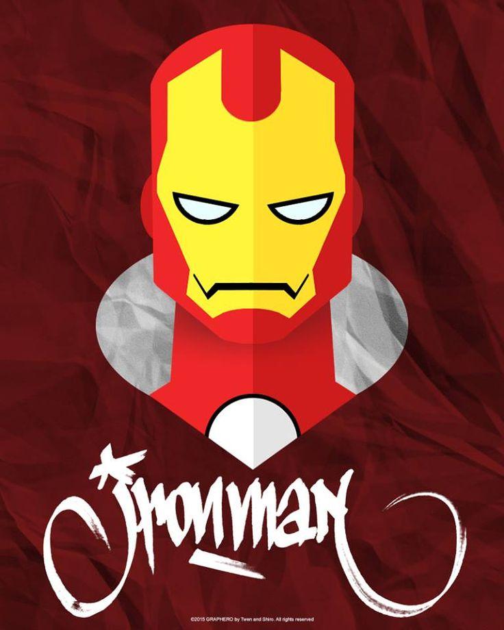 SUPERHEROES MINIMAL: AVENGERS IRONMAN MARVEL by Twen
