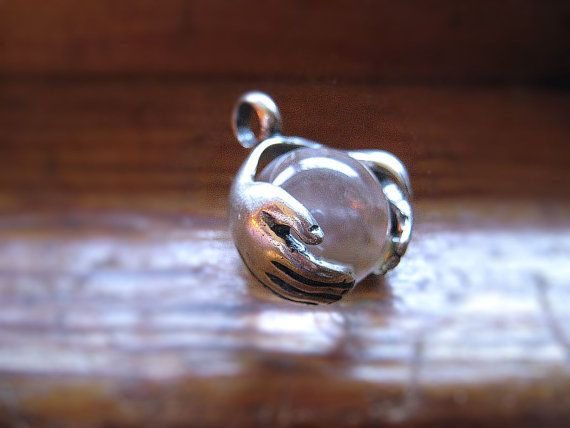 ZoLtAr FoRtUnE TeLLeR Crystal Ball Pendant by GriffinsNestJewelry