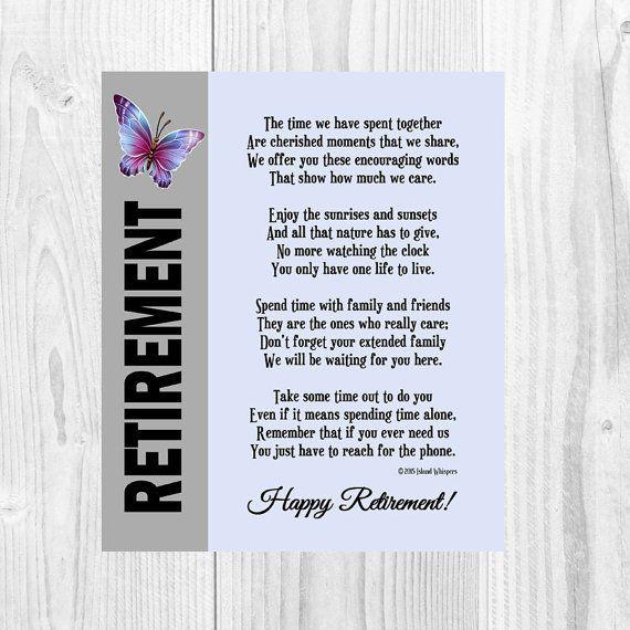 Retirement poems 4