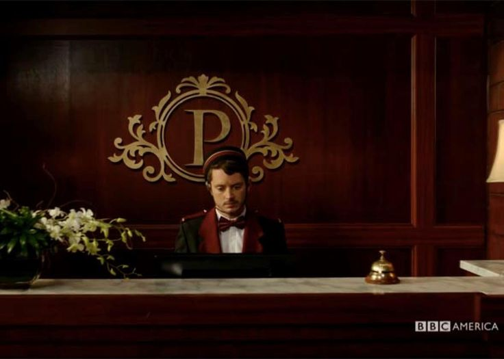Elijah Wood seems to be having the longest, darkest tea-time of the soul imaginable in the trailer for Dirk Gently's Holistic Detective Agency, release ...