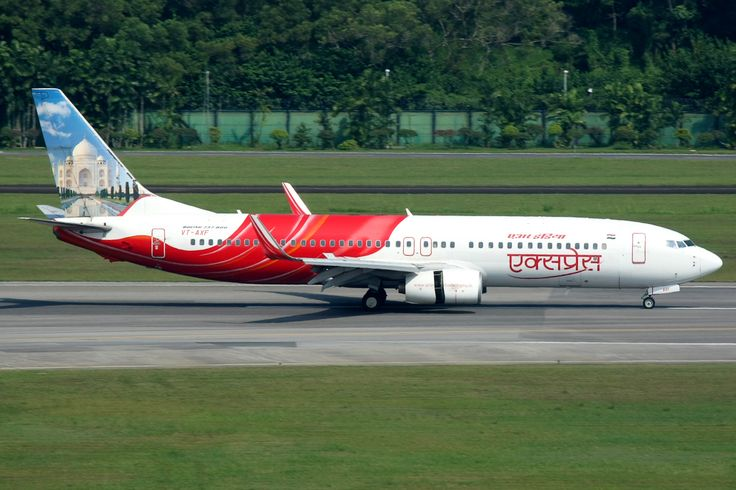 Air India Express Boeing B737-800 (Taj Mahal)