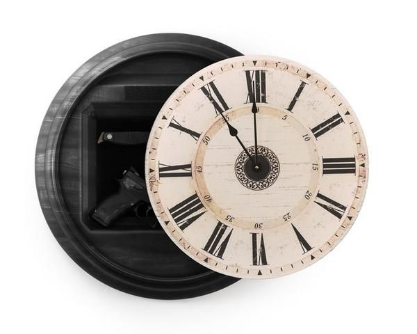 The 1410M Tactical Wall Clock is an innovative solution in home defense. Hidden behind the clock face that will look good in any home, is a 14 x 10 compartment