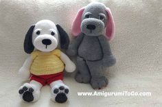 Cuddle Me Puppy, #crochet, free pattern, amigurumi, stuffed toy, dog, #haken, gratis patroon (Engels), hond, knuffel, speelgoed, #haakpatroon