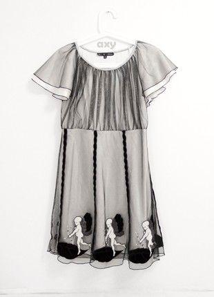 Kup mój przedmiot na #vintedpl http://www.vinted.pl/damska-odziez/krotkie-sukienki/20774896-oryginalna-niepowtarzalna-sukienka-z-aniolkami
