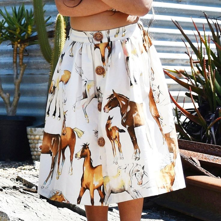 Last two horse print maxi skirts! Size 4-5