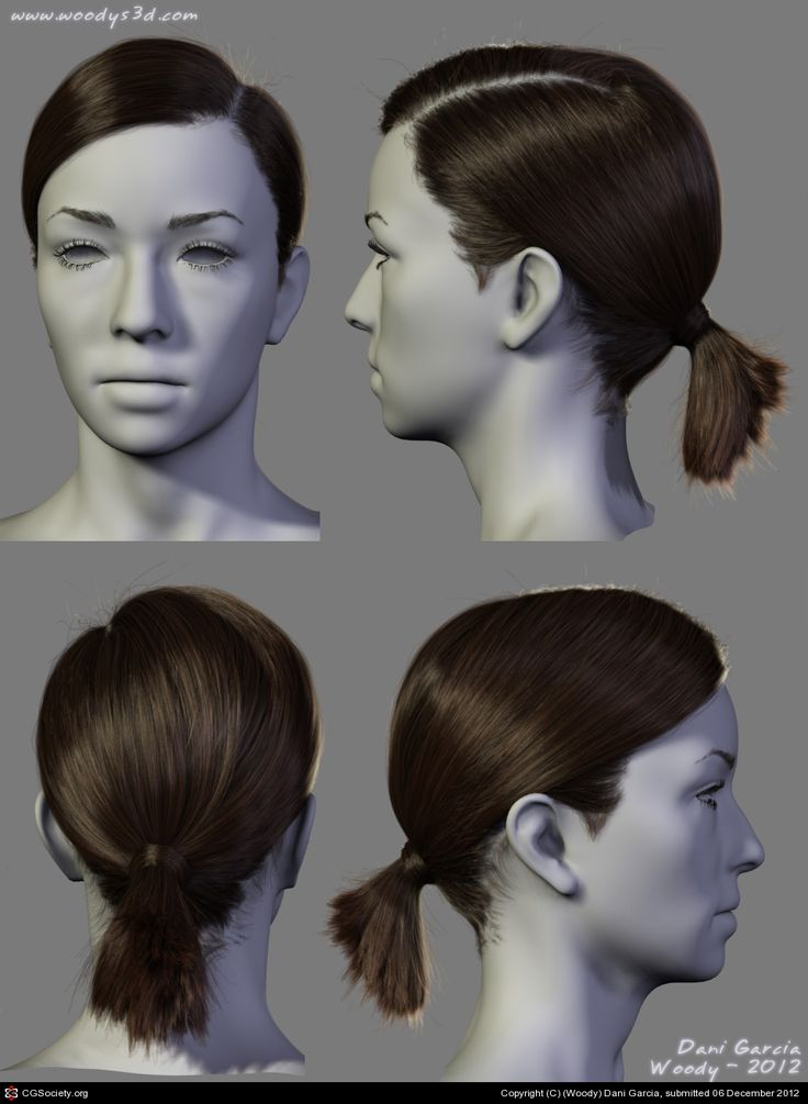 2012 Hairstyles 02 by (Woody) Dani Garcia | 3D | CGSociety