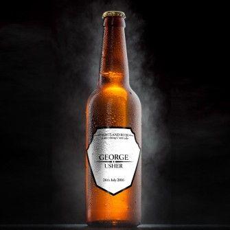 Heritage Wedding Personalised Beer