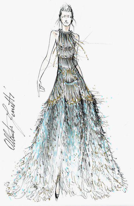 Vive la Couture! Giles Deacon, Iris Van Herpen, J. Mendel, and Francesco…