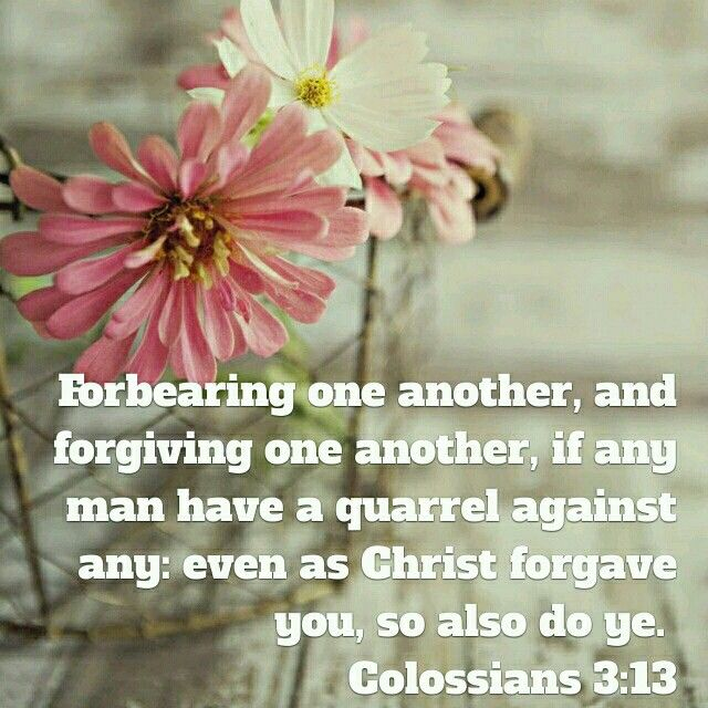 Colossians 3:13 KJV
