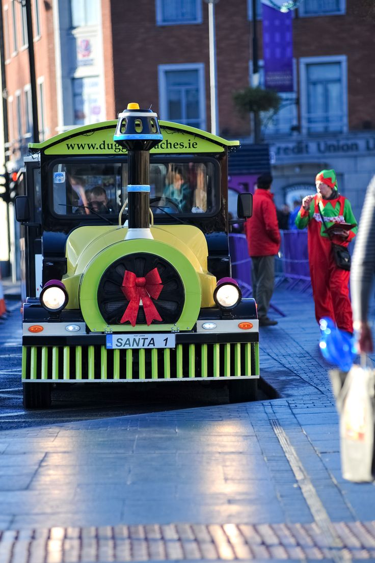 "Hop on board the magical ""Winterval Express"", a road train that takes you on an enthralling half hour journey through the historic streets of Waterford. Click here to book your tickets https://winterval.ticketsolve.com/shows/873503679/events"