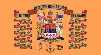 1st Bn Seaforth Highlanders of Canada