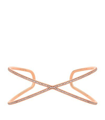 Vanrycke Physalis Diamond Bangle available to buy at Harrods. Shop fine jewellery online and earn Rewards points.