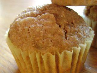 Muffins au germe de blé et aux bananes