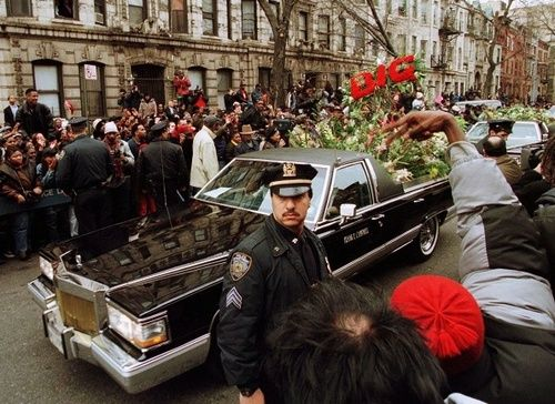 Easy E Funeral: The Notorious B.I.G.'s Funeral - 1997