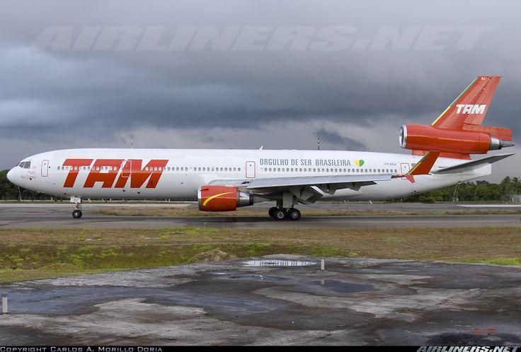 Por onde andariam os McDonnell Douglas MD11 da TAM? : Aviões e Músicas