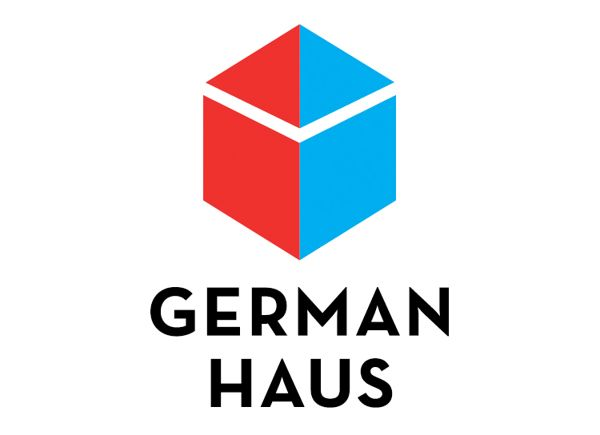 This logo exhibits a good use of contrasting colors. The colors when put in close proximity to each other form not only a cube but also the illusion of a house. This logo however depends on the colors and would not be very versatile.