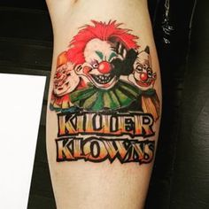 killer klowns from outer space tattoos