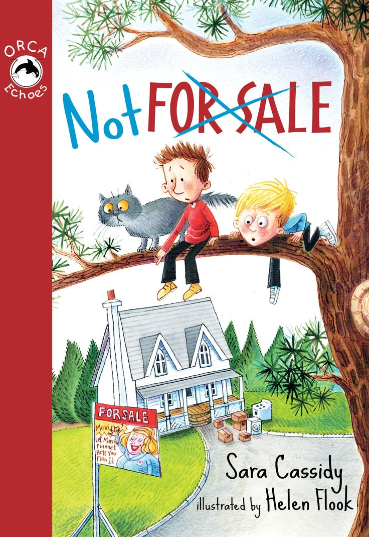 Not for Sale by Sara Cassidy and illustrated by Helen Flook (Orca Echoes)