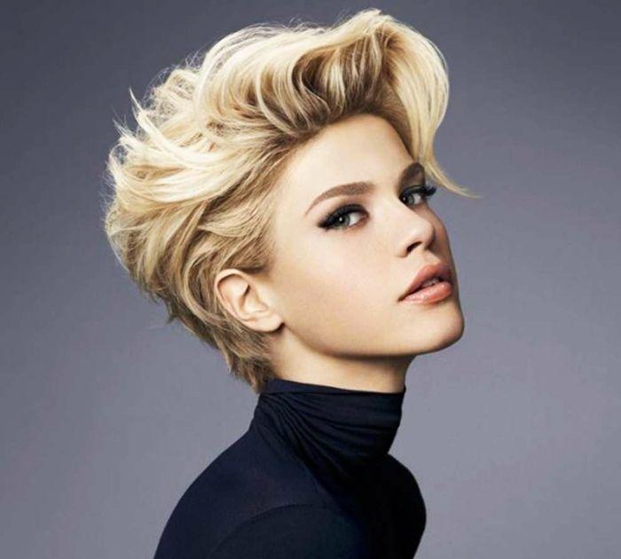 Die Besten 25 Frisuren Damen Halblang Ideen Auf Pinterest
