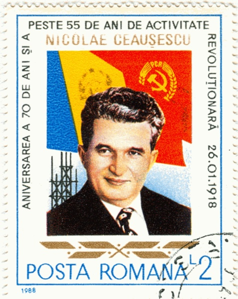 Nicolae Ceaușescu - Was the infamous leader of Romania. He and his wife were shot by firing squad in 1989. There was so much oppressiveness from him.
