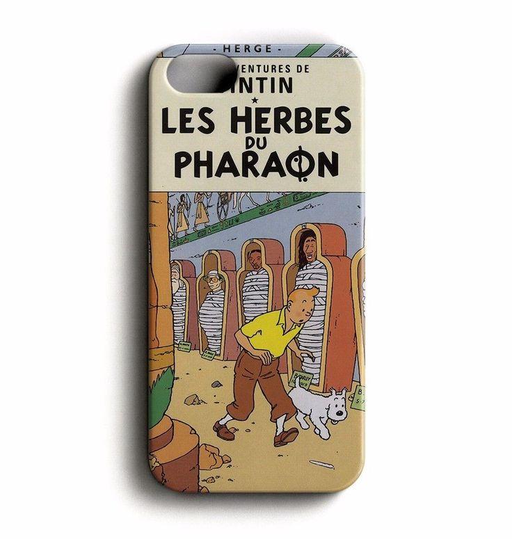 Les Herbes Du Pharaon Tintin for iPhone SE / 5 /5S Case Cover #31case