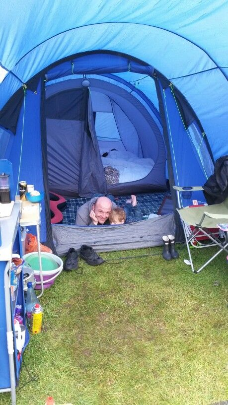 Camping in the rain :)