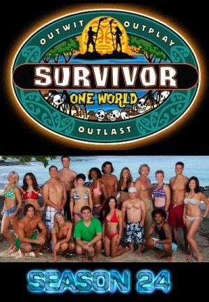 """Survivor, Season 24, Episode 7: """"The Beauty in a Merge"""" - winner Kim Spradlin"""