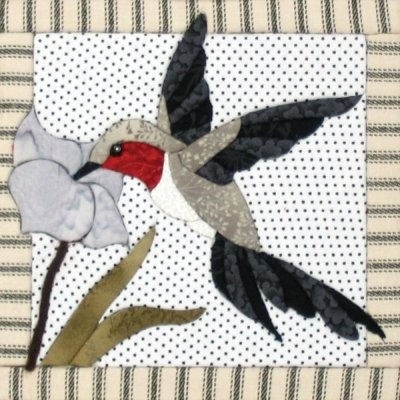 29 best Hummingbird Applique Quilts / Patterns images on Pinterest ... : hummingbird quilts - Adamdwight.com