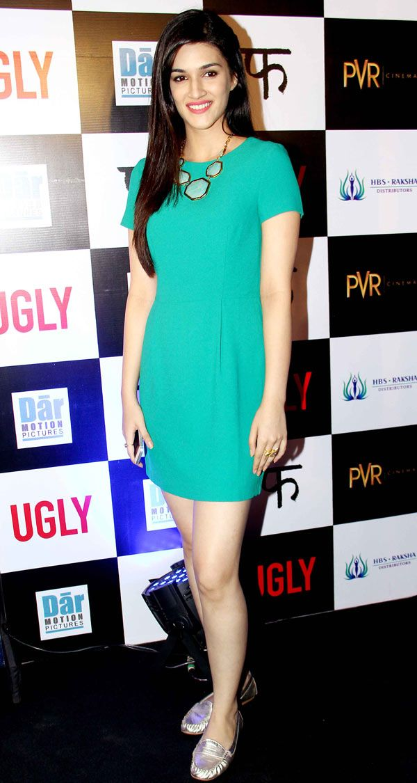 Kriti Sanon at special screening of 'Ugly'. #Bollywood #Fashion #Style #Beauty