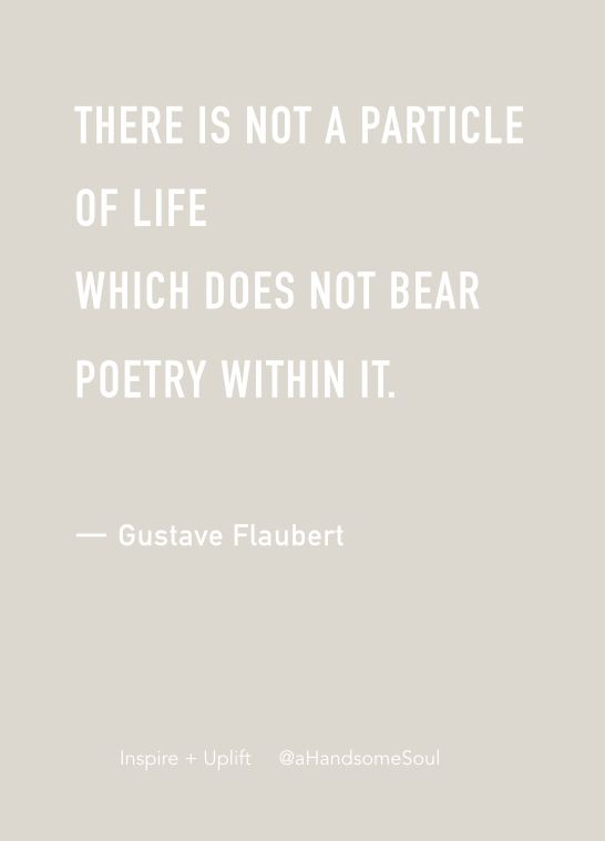consider this • gustave flaubert