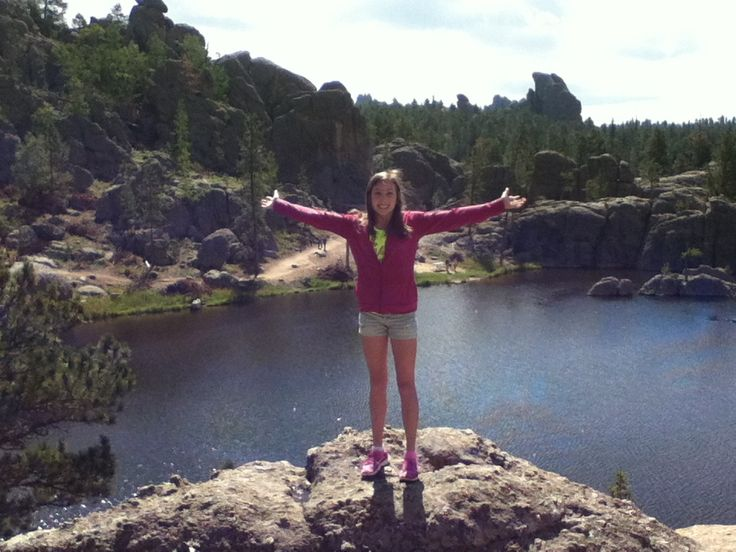 sylvan lake in the black hills.  such a pretty place!
