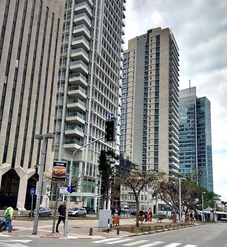 Buildings on Rothchild boulevard