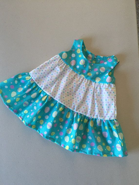 Baby Easter Outfit, Ruffle Diaper Cover, Infant Easter Dress, Baby Girl Dress, Kids Easter Outfit, 3-6 mos dress
