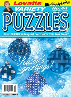 Variety Puzzles 44 Christmas cover
