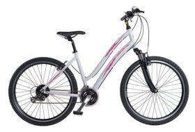 """Rower Cossack SONATA 26 """" 41505-1540 biały mat. Sonata to nowy segment rowerów w kolekcji Cossack, jest to rower typu ATB, czyli rower, który nie jest stricte rowerem MTB a jego odmianą. #rowerdamski #rowerMTB"""