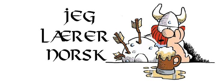 Jeg lærer norsk
