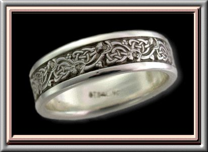 Claire's wedding ring from the book.  DG approved.  Can be purchased here: http://www.theauthorsattic.com/gabaldon.htm
